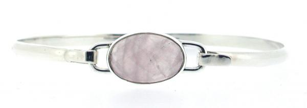Rose Quartz Clip Bracelet