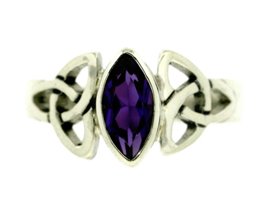 Celtic Amethyst Ring