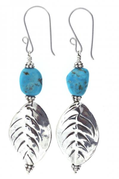 Turquoise Hilltribe Earrings